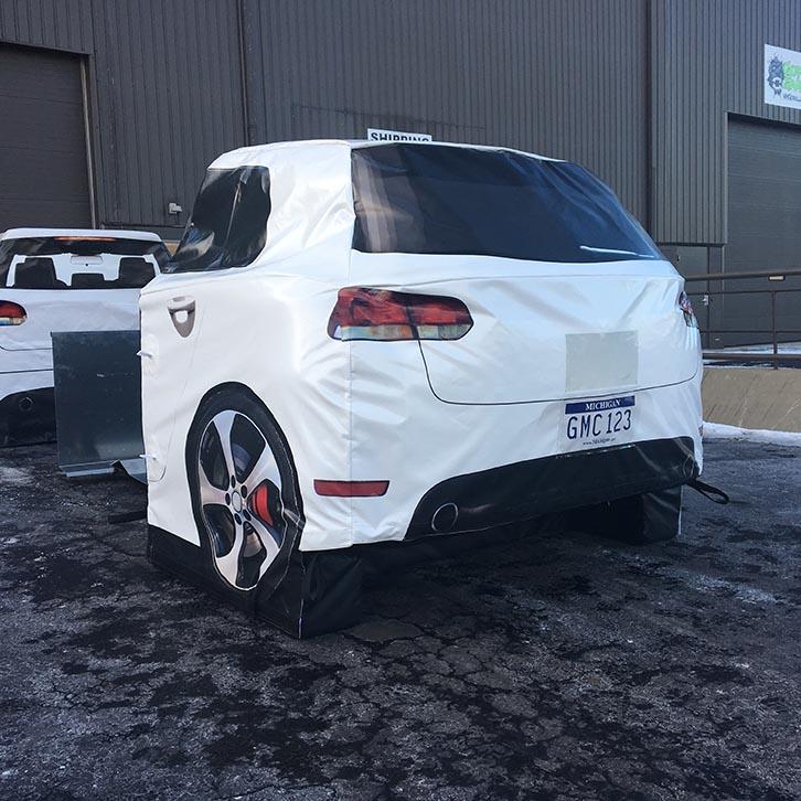 Vehicle Target Foam